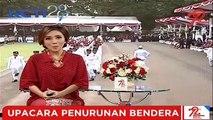 Detik-Detik Penurunan Bendera Merah Putih di Istana Merdeka Jakarta