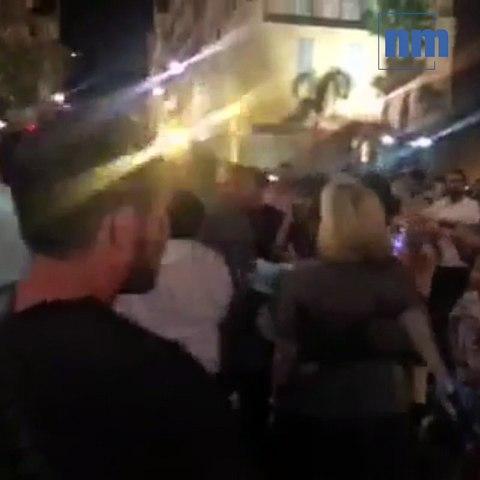 Belmondo ovationné après un dîner dans le Vieux-Nice