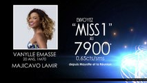 Vote SMS Mayotte Réunion - Miss Mayotte 2017