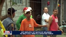 AFP deploys 1st batch of soldiers to help cull Bird Flu affected fowls