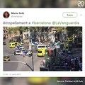 Un van renverse des personnes sur les Ramblas de Barcelone