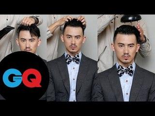 GQ Hair Style l 倒三角形臉變髮有方