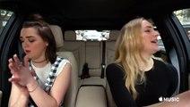 'Game Of Thrones' Fans Rejoice! Sansa & Arya Stark Take On Carpool Karaoke
