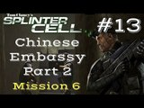 Splinter Cell Gameplay | Let's Play Tom Clancy's Splinter Cell - Chinese Embassy 2/2 (Mission 6)
