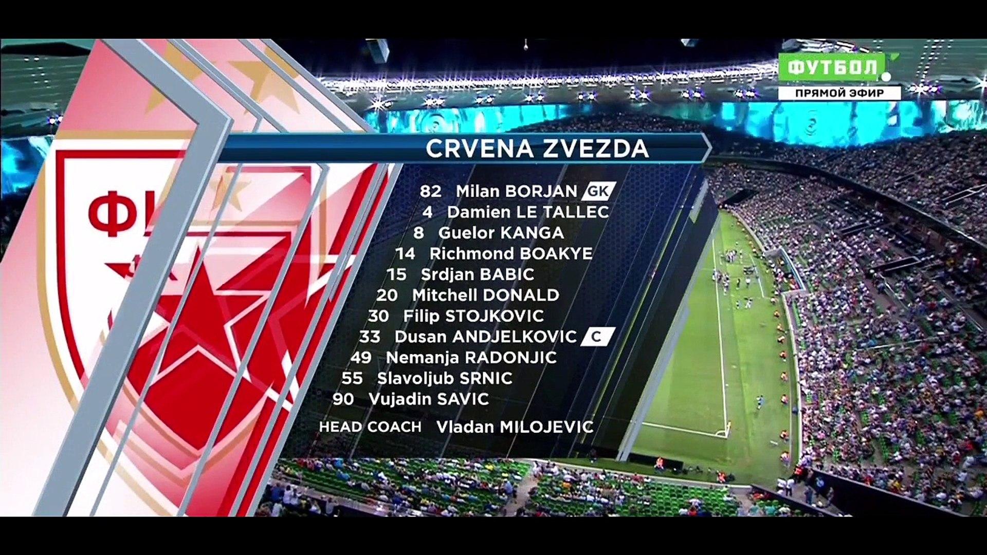 |HD| Krasnodar vs Crvena Zvezda 3-2 - Extended Highlights