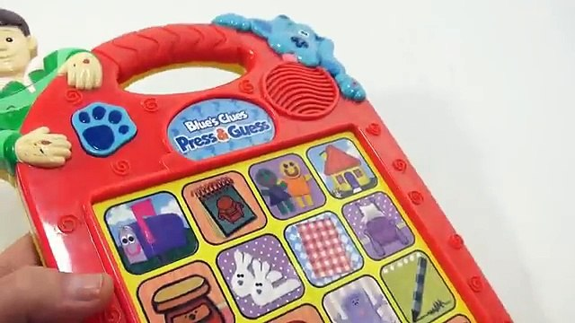 Blues Clues Games, Toys - Blues Clues Electronic Toys, Steve & Joe Blues Clues