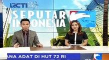 Gunakan Baju Adat Terbaik, Jokowi Beri Sepeda