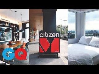 荷蘭潮旅館citizenM來了!亞洲首間在台北!編輯試住報告【GQ編輯開箱】|GQ Unboxing