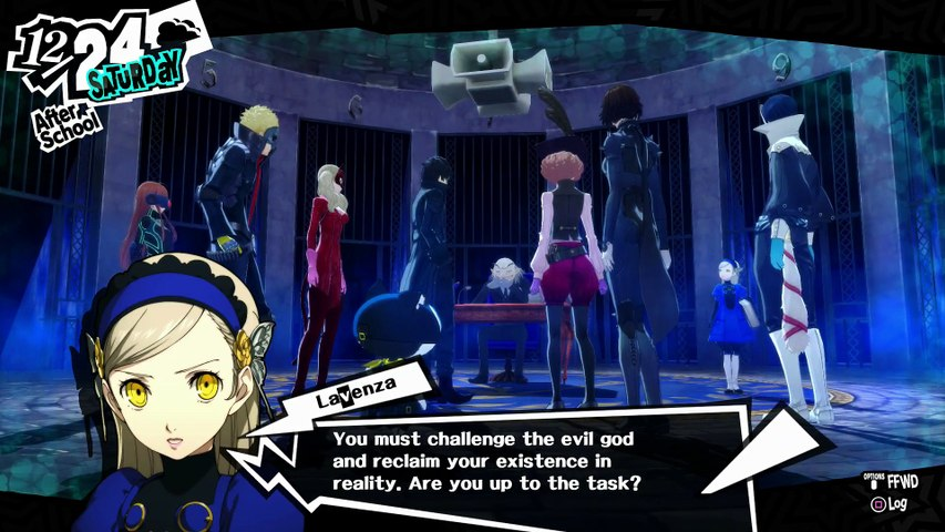 PERSONA 5 FIRST TIME PLAYTHROUGH PART 349 - REAL IGOR, MONA DISCOVERY & HERALD OF DEATH BOSS