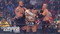 "Team SmackDown! (Batista, Rey Mysterio, John ""Bradshaw"" Layfield, Bobby Lashley, Randy Orton) vs Team Raw (Shawn Michaels, Kane, Big Show, Carlito, Chris Masters) - 5-on-5 Survivor Series elimination match - Survivor Series (2005) - WWE"