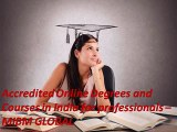 Accredited Online Degrees and Courses in India for professionals for every MIBM GLOBAL