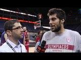 Pre-game interview: Georgios Printezis, Olympiacos Piraeus