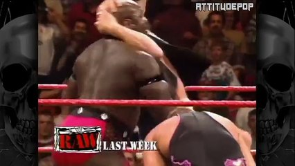 Ahmed Johnson Challenges Stone Cold Steve Austin