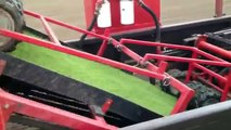 Artificial Turf Sod Installation Football Fields & Golf Courses Grass Mega Machines Heavy Equipment