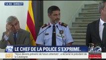 """Attentats en Espagne: les auteurs préparaient """"une attaque de plus grande envergure"""", déclare la police catalane"""