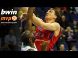 Playoffs Game 5 bwin MVP: Sasha Kaun, CSKA Moscow