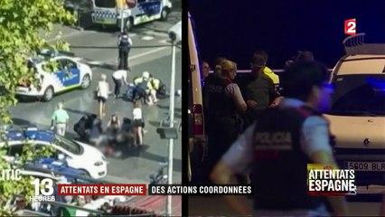 Attentats en Espagne : la traque des suspects
