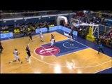 Eurocup Eighthfinals Game 1, Paris-Levallois-PGE Turow: Chris Wright fastbreak dunk!