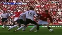 Ronaldo first game in Manchester United!  Primeiro jogo de Cristiano Ronaldo no Manchester United