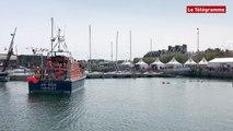 Concarneau. Filets Bleus : démonstration de sauvetage en mer
