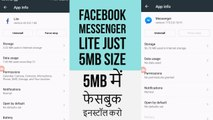 FACEBOOK MESSENGER LITE 1 1 APK FOR ANDROID 2 3 AND UP REVIEW WITH