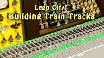 How to Make a Lego Train Track Incline Ramp Tutorial - Vidéo dailymotion