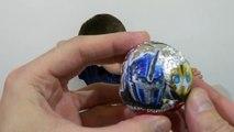 Domestiques porc transformateurs déballage Peppa boules œufs balles surprennent surprises jouets oe