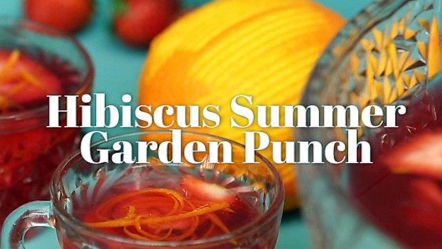 Hibiscus Summer Garden Punch Cocktail Recipe - Liquor.com