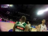 Ever dreamt of stepping on the court? First V1sion's Jersey Cam in action in the Euroleague