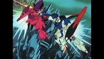 Judau in Zeta Gundam vs. Mashmyre Cello and soldiers Gundam Double Zeta