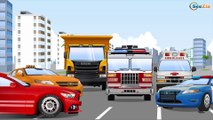 La Voiture de police - Apprendre les règles de circulation - Dessin animé éducatif
