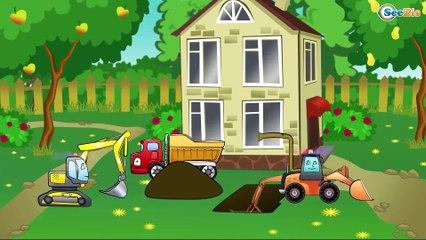 ✔ Camión, Excavadora | Dibujos animados | Caricaturas de carros. Carritos Para Niños ✔