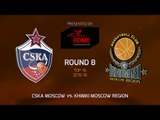 Highlights: CSKA Moscow-Khimki Moscow region