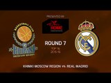 Highlights: Khimki Moscow region-Real Madrid