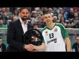 Dimitris Diamantidis becomes Euroleague Basketball Legend