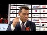 Post-game interview: Coach Itoudis, CSKA Moscow