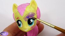 CUSTOM My Little Pony Power Pony Compilation Applejack Rarity Fluttershy MLP Happy Magic T
