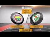 EB ANGT Finals Highlights: U18 Fenerbahce Istanbul-U18 Zalgiris Kaunas