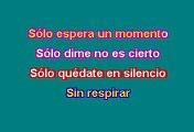 RBD - Sólo Quedate En Silencio (Karaoke)