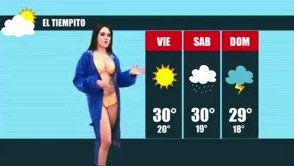 'CAMPANITA' SE DESVISTE EN VIVO Y EN DIRECTO