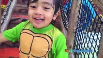 La famille pour amusement amusement enfants stations Schlitterbahn waterpark amusement toboggans ryan toysreview