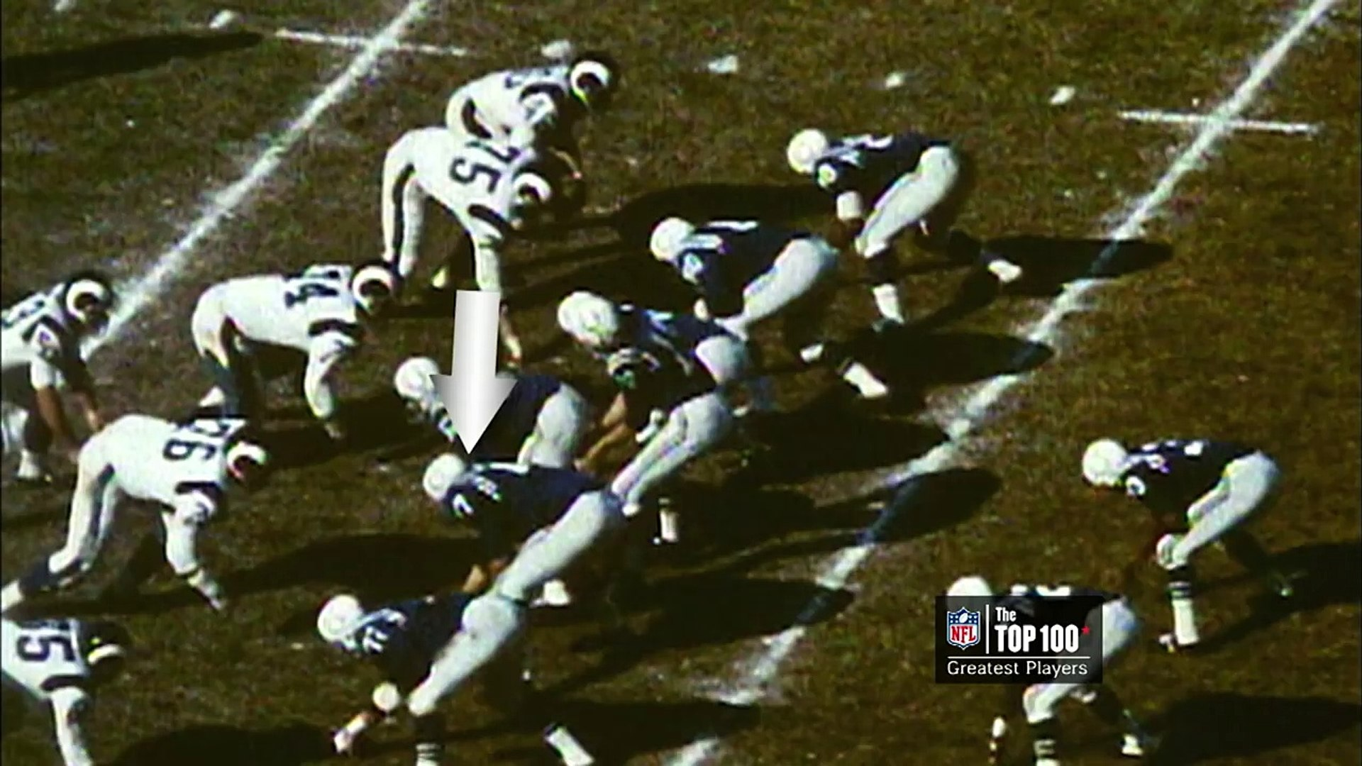 #32: Jim Parker | The Top 100: NFL's Greatest Players (2010) | NFL Films