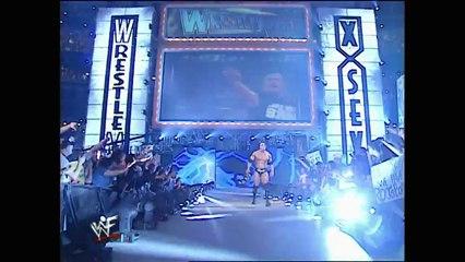 Stone Cold VS The Rock Wrestlemania X-seven WWF Championship