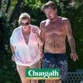Leonardo DiCaprio and Kate Winslet Pool Photos - Titanic Reunion