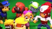 Héros parodie patrouille patte sauve le le le le la jouets vidéo Nickelodeon slimed super