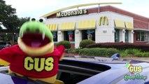 Driving Thru McDonalds Taco Bell Dunkin Donuts Burger King Drive Thru IRL Food and Toys-1Z7BxJbSxw4