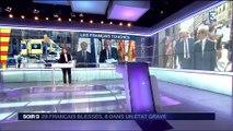Attentats en Catalogne: Jean-Yves Le Drian au chevet des blessés français