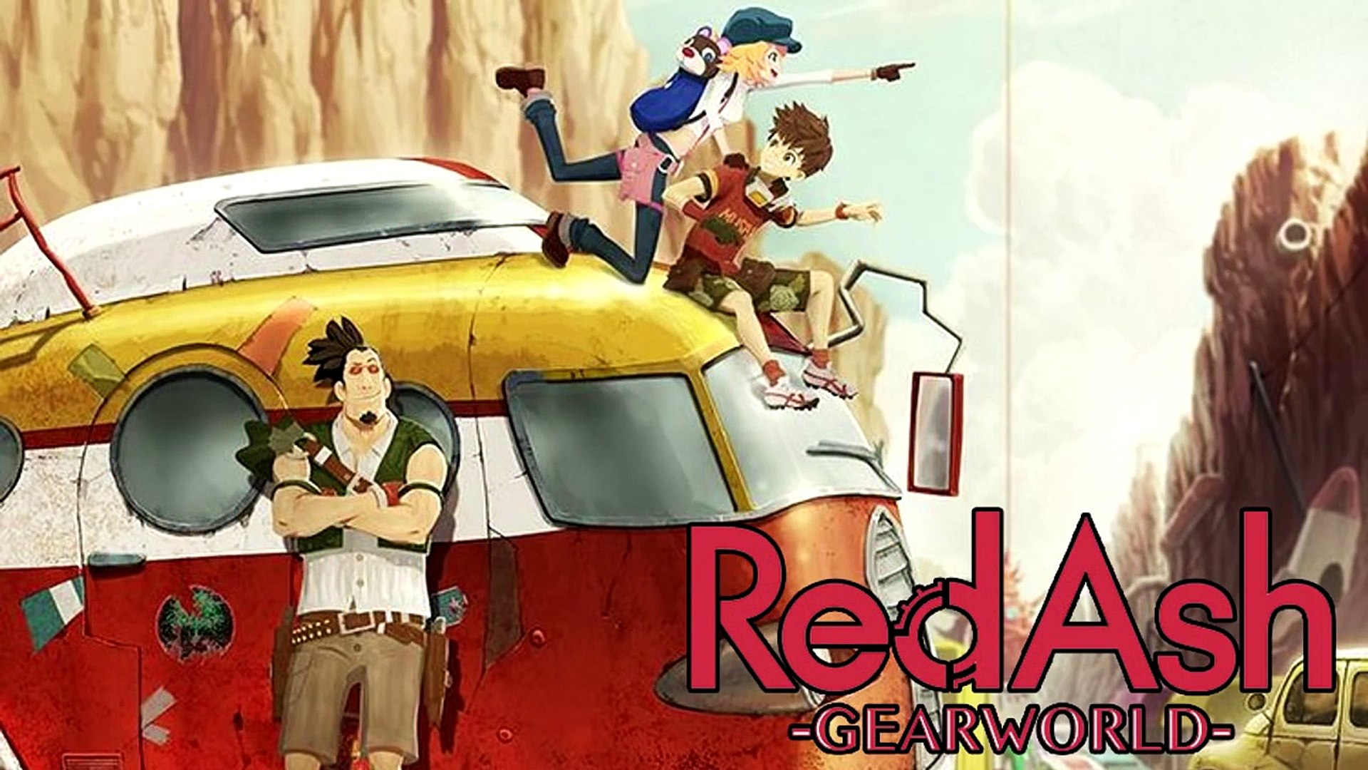 Red Ash Gearworld Anime Footage Revealed
