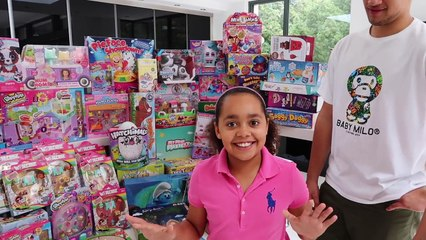 kids react toys andme gives toy haul to kids charity surprise presents for kids 6m subscribers qtjurr2usnq