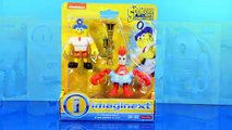 Imaginext The SpongeBob Movie Sponge Out of Water Fisher Price Unboxing Set 2 Nickelodeon